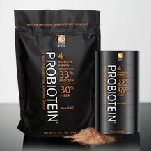 ProBiotein – 16 oz bag and 10 oz cylinder